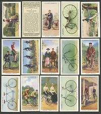 Players Cycling part set 36 F/VF cig cards