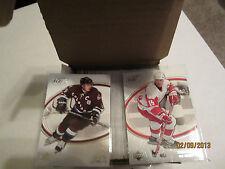 2005-06 UD ICE Complete Hockey Set! 100 Card Set Excellent! Yzerman, Sakic, Jagr