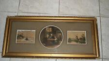 3 aquarelles ARTZ et OPOL