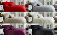 Luxury Vincenza Jacquard Polycotton Duvet Covers with Pillow Cases In All Sizes
