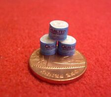 1/24th Scale Dolls House Miniature 3 x Toilet Rolls (set 2)
