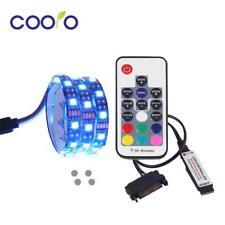Led Strip Light Computer Case Full Kit Magnetic Rgb Pc Sata Power Remote Control