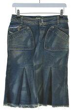 Diesel femme denim jupe W27 L21 coton bleu