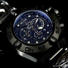 Invicta Subaqua Noma IV Black Combat Chronograph Rubber 50mm Swiss Mvt Watch New