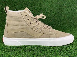 Vans Sneakers Scotchgard Protector Tan Suede Sz 7.5M 9W