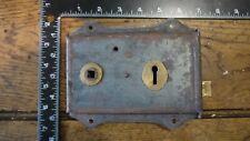 L33 Reclaimed Old Victorian Rim Lock / Door Latch