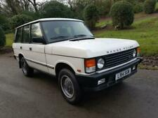 Range Rover White Land Rover & Range Rover Cars