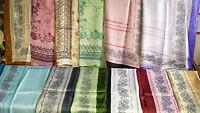 Joblot 24 pcs Faux silk scarf scarves NEW wholesale 55x160 cm Lot 15