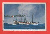 El Sphinx - 1er Steam de la Flota Francesa - 1829 (G2719)
