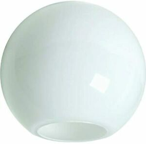 """KastLite 12"""" Acrylic Lamp Post Globe with 5.25"""" Neckless Opening"""