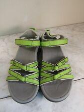TEVA KIRRA 4266 Green/Gray Sport Hiking Water Sandal Shoe Women's Size 8 EU 39