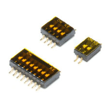 Smd Slide Dip Switch Module 127mm 2 4 8 Position Spst Smt Toggle Switch Pcb
