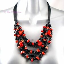 Onyx Stone Coral Fashion Necklaces & Pendants