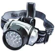 12 LED ULTRA BRIGHT HEAD TORCH LIGHT LAMP CAMPING HIKING FISHING LIGHTING CAR