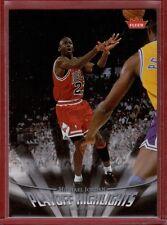 Michael Jordan 2007-08 Fleer Playoff Highlights Card #PH4