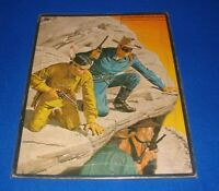 """1953 The Lone Ranger Picture Puzzle by Whitman 14"""" x 11""""  Tray Puzzle"""