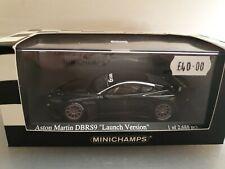 Minichamps Aston Martin DBRS9 Launch Black 2006 1:43 400061301