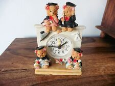 Wise Bear Alarm Clock by Regency Fine Arts. Baby, child, nursery. Teddy bears