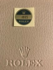 Rolex Bollino Sticker Vintage Referenza 1665