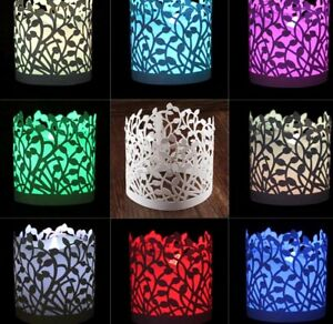 50 x Tea Candle Light Paper Holder Wedding Birthday Party Event Table Decoration