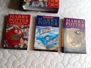 Harry Potter Philosopher's Stone Chamber of Secrets Prisoner of Azkaban Box Set