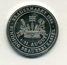 Medaille Kreissparkasse Binding Brauerei Kassel Brauermarkt 1986 M_1073