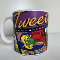 Tweety Bird Looney Tunes Coffee Mug Applause 1995 VTG
