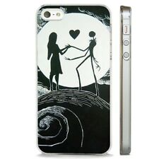 Nightmare Before Christmas Moon Sky CLEAR PHONE CASE COVER fits iPHONE 5 6 7 8 X
