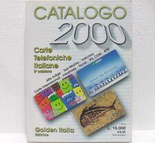 CATALOGO CARTE TELEFONICHE ITALIANE ed. 2000 8° EDIZIONE