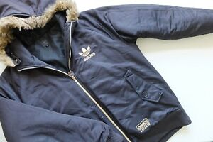 Rare Adidas Chile '62 hooded thick padded Jacket | Black M 2009
