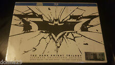 THE DARK KNIGHT TRILOGY BLU-RAY 6 Discos Set numerado COLLECTOR EDITION Sellado+