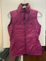 THE NORTH FACE Mossbud Women's Insulated Reversible Vest, size XS color Plum