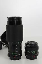 Canon FD 50mm 1:1,4 und Canon FD Zoom Lens 70-210mm 1:4