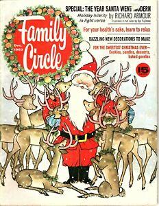 Family Circle Magazine - December 1963 - The Year Santa Went Modern - R Amour