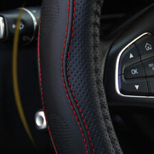 Pu Leather Car Steering Wheel Cover Good Grip Car Accessories For 1537 38cm Li Fits 2006 Civic
