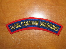 Canadian Shoulder Flash Royal Canadian Dragoons