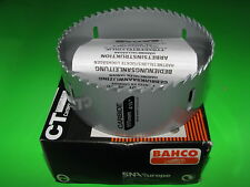 BAHCO HOLESAW 111mm CARBIDE HOLE SAW 100mm PVC