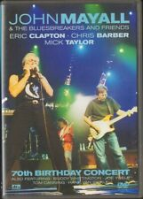 JOHN MAYALL & The Bluesbreakers 70th Birtday Concert ERIC CLAPTON 16 track DVD