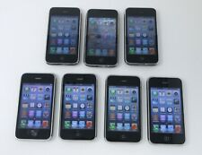 Apple iPhone 3GS Lot of 7 Black 16G AT&T Smartphones - A1303
