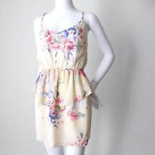 BETTINA LIANO Women's Dress Sleeveless Floral Mini Size  AU 6 - 8 US 2 - 4