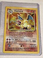 Charizard 4/102 Base Set 1999 WOTC Holo Rare Pokemon Card
