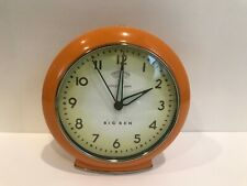 "BIG BEN Retro ""LOUD ALARM"" Clock batteries Included Works Orange"