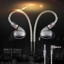 4Core Earphone MMCX L Bended Cable for Shure SE535 SE846 UE900 DZ7 DZ9 Headphone