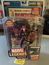 "Marvel Legends Series VIII BLACK WIDOW 6"" Action Figure Toybiz 8 2004 Sealed"