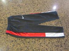 Nike Track sweat Pants boys girls workout running  4 black white red athletic
