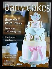 Party Cakes, Issue 16, Cake Craft Guide, Royal Iced Christening Cake.