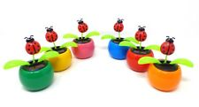 New Solar Powered Dancing Flip Flap ~ Lady Bug Assorted Qty 1~ Picked at Random
