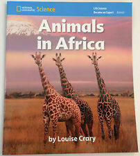 Animals in Africa National Geographic Science pack of 8 - By Luise Crary