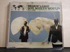WALKIN' LARGE - BOY MEETS WORLD - feat. Brixx - cd singolo slim case 1999