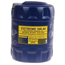 MANNOL 5W-40 Motoröl 20 Liter Extreme Universal Leichtlauf Synthetic Öl